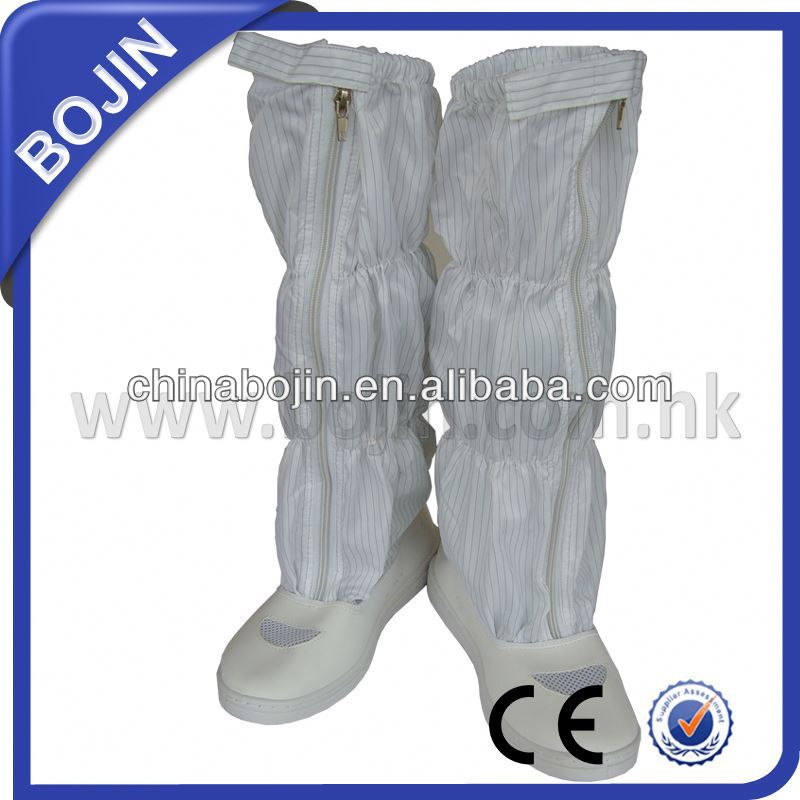 Rubber sole protective industrial safety boots