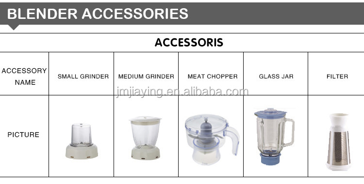 4 Speeds 1.5L PS Or Unbroken Jar Hot Sale High Quality Electric Blender
