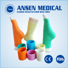 Free Samples 4inch Medical Bandage Orthopedic Casting Tape Lightweight Plaster Cast Medical Consumables