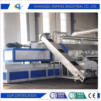 Waste Tire to Oil Pyrolysis Plant and Auto Continuous Plastic Recycling Machine