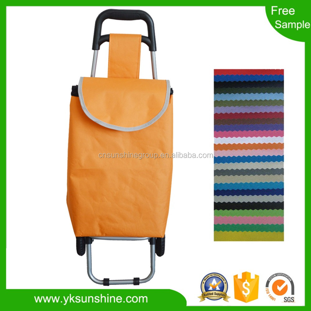 Supermarket Shopping Trolley bag with Different Capacities/Asian Style Shopping Trolley Cart