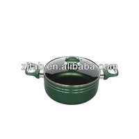 Smart Purple Color Aluminium Non-stick 20cm Stock Pot