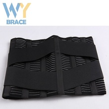 Free Sample Mesh Fabric Lumbar Support Belt Metal Back Brace With BV FDA Certificate