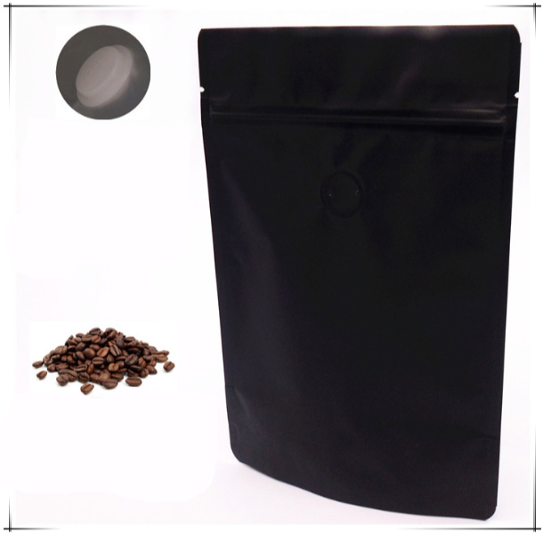 13*21cm 125g coffee ben bag Whole aluminum foil teatox stand up green empty tea bag <strong>packing</strong>