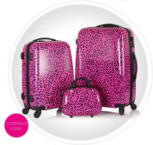 "trolley makeup case with 20"" 24 "" luggage set"