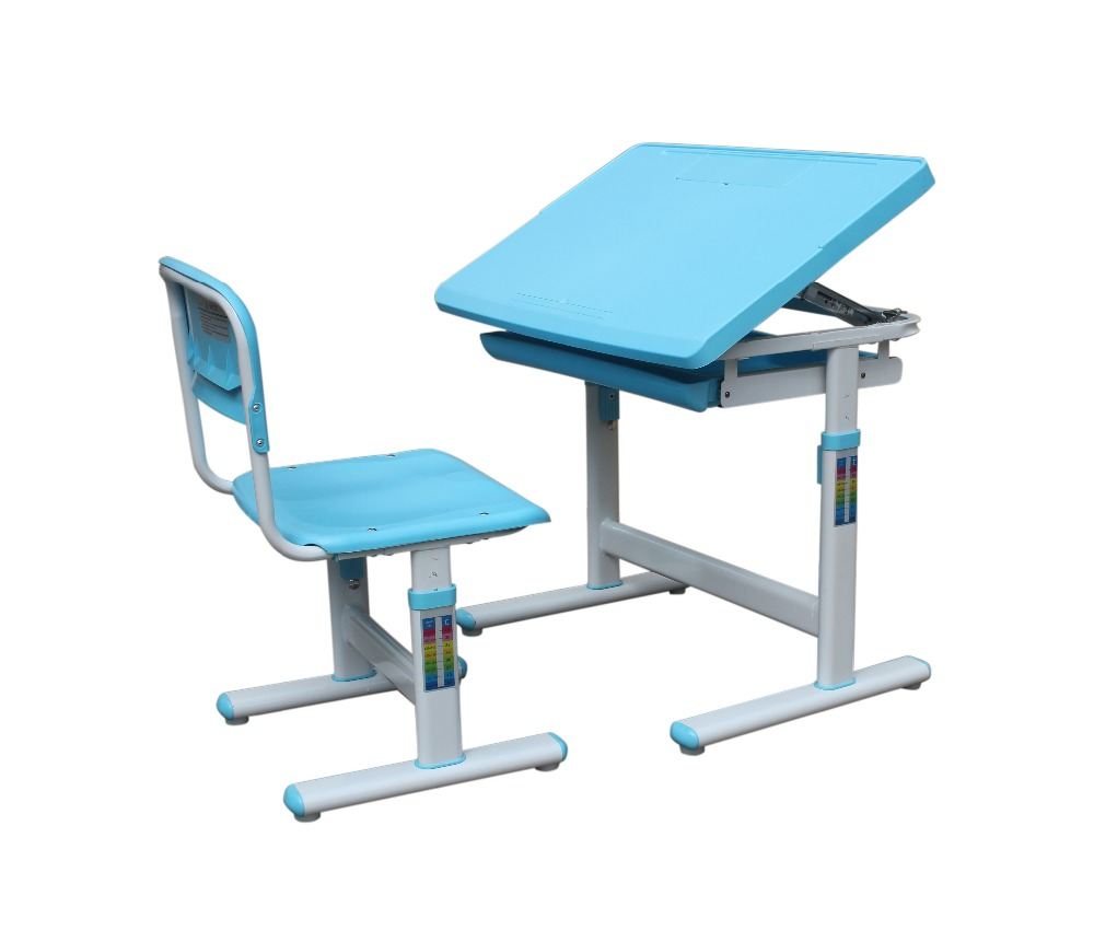 Children Desk and Chair Kids Study Table Desk Ergonomic Desk and Chair