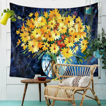 Mandala Tapestry Wholesale Van Gogh Oil Painting Wall Hanging Tapestries