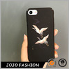Fashion Black Phone Accessories Crance Shape