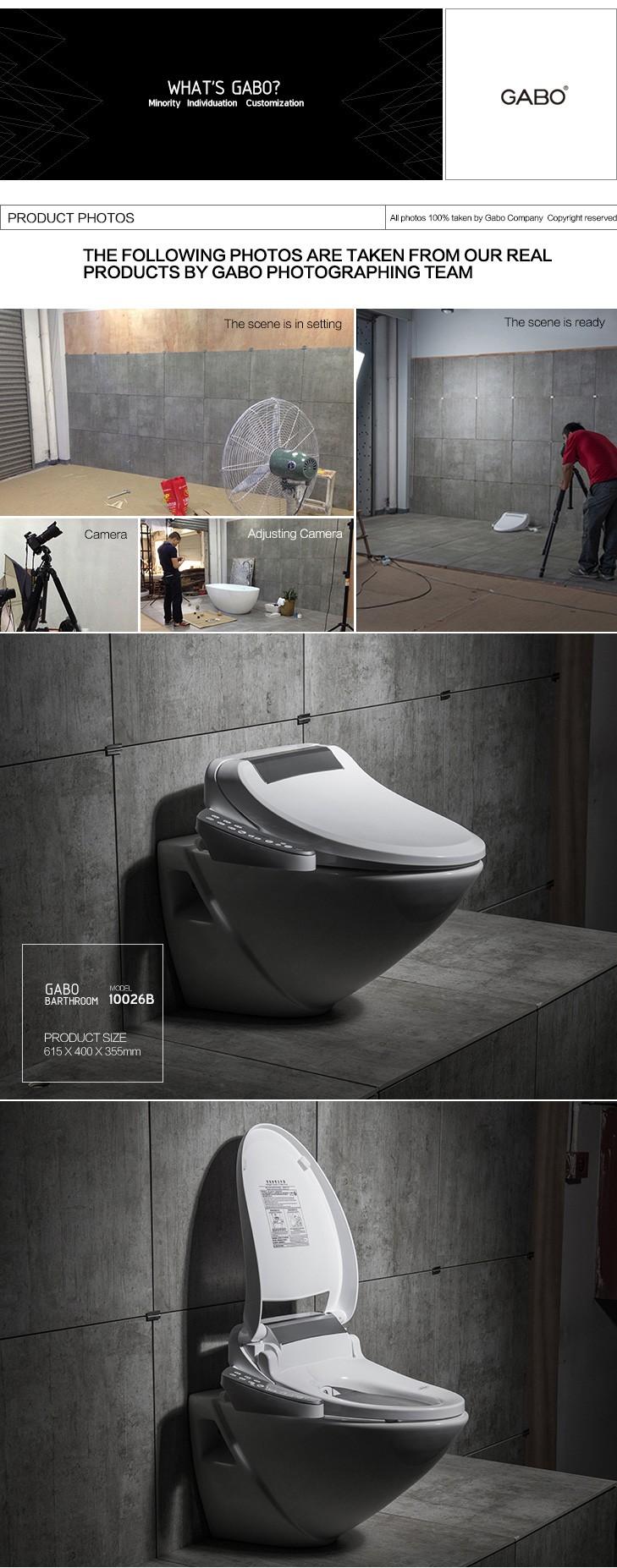 Nouvelle salle de bain moderne commercial compact for Novello salle de bain