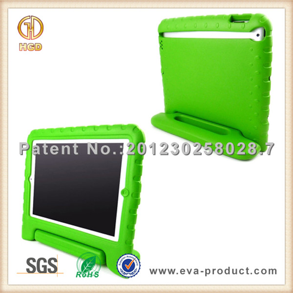 EVA Kids Children Friendly shockproof tablet pc case with stand for ipad air