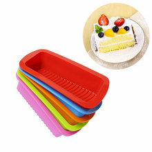 Food Grade BPA Free Silicone Loaf Pan Cake Bread Pizza Toast Silicone Rectangular Cake Pan