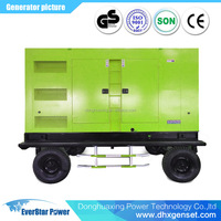 Hot Sale!280kw Trailer/Silent diesel generator with CE/ISO