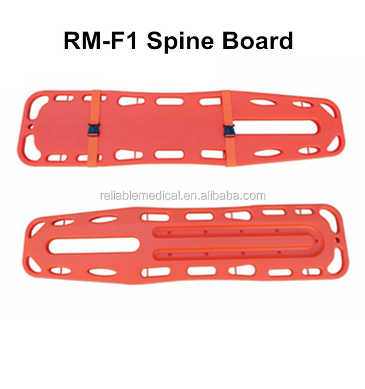 RM-F1 Prehospital spinal injury patient transfer used long spine board