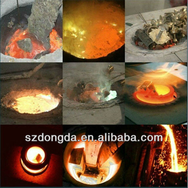 Basalt Melting Furnace Aluminium Alloy Ingot Melting Furnace