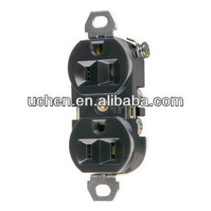Duplex receptacle/industrial receptacle outlet NEMA L5-15R
