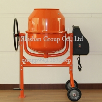 CM185(CM50-CM800) Mini Electric Gasoline Diesel Concrete Mixer Best Price 185L