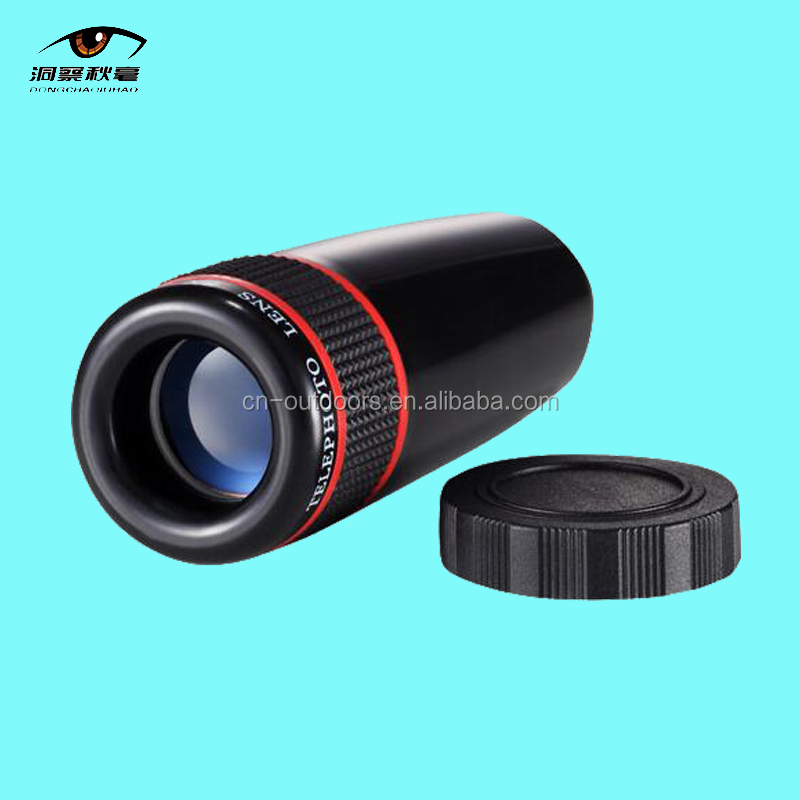 Promotional Gift Compact Picture Video Taken Monocular Telescope with Universal Mobile Phone