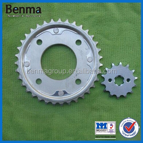 NX4 FALCON motorcycle parts/Motorcycle chain and sprocket for NX4 FALCON