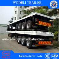2015 new 40ft / 20ft container flatbed semi trailer