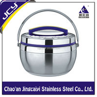 201# Stainless steel king size insulated food container