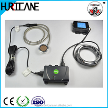 Anti theft vehicle fuel tank tracking liquid level meter