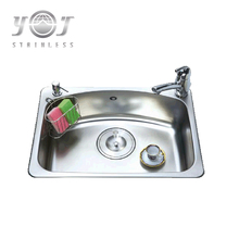 universal single Basin Drop-in or Undermount 1 Hole Residential sinks kitchen