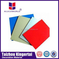 Alucoworld UV Digital Printing Aluminum Plastic Panel Manufacture Price/Architectural Advertising ACP sheets
