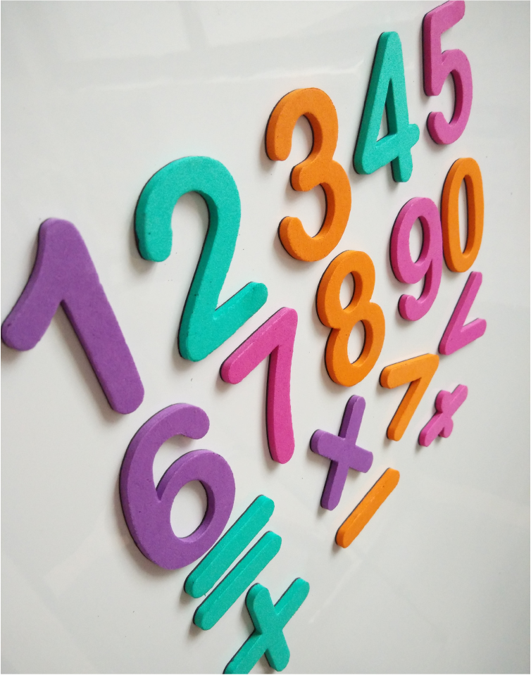 DIY EVA Foam Letters Puzzle Alphabet Magnets