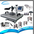 High Quality All In One Heat Transfer Machine with 8 parts