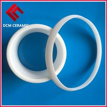 Shenzhen machining insulation Zirconia ceramics sealing rings With High Wear-Resistant
