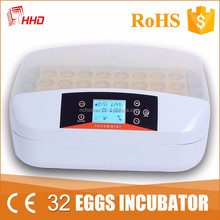 HHD digital thermostat the incubator for 32 poultry egg incubator for sale YZ-32A