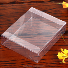 Custom transparent plastic case packaging box for usb cable