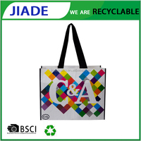 New Product foldable shopping bag with wheel