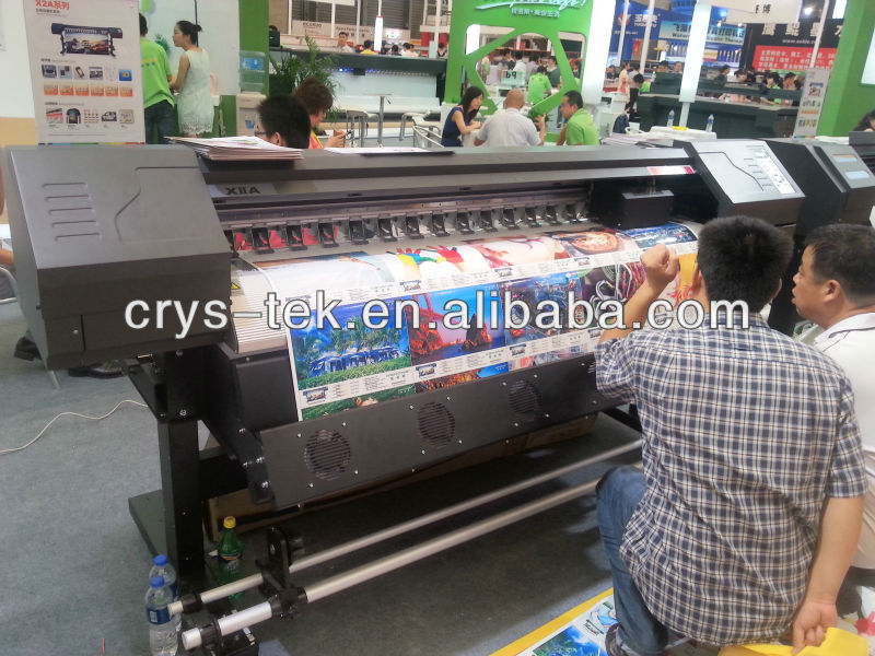 Poster printer machine for indoor and outdoor printing