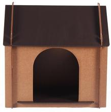Easy to assemble MDF dog house