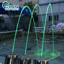 FA 03 Large Outdoor Laminar Jumping Jets Dancing Water Fountains