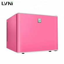 LVNI table top no noise 20L colorful home hotel mini bar refrigerator fridge without compressor but led light