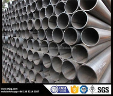 stainless low carbon welded pipe Q235b iron steel pipe greenhouse construction astm a53 schedule 40 ERW welded black round steel