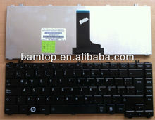 Layout latin laptop keyboard for toshiba satellite L645