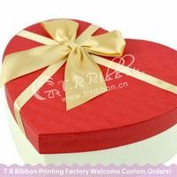 Box packing bow, satin ribbon bows, factory direct