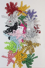 205 new design plastic ribbon Curly Bow
