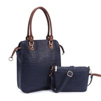 Noble and fashion high quality and wholesale China factory alligator women handbag