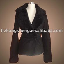 2012 LADIES TOSCANA DOUBLE FACE SHEEP SKIN SHEARING COAT,WARM WITNER COATS FOR LADIES WERING,