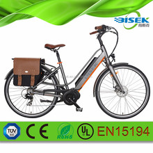 28inch city pedelec e bicycle hidden battery operated bike