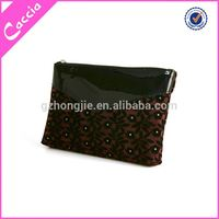 2015 Promotion fashion pu leather cosmetic bag bulk cosmetic bags cheap wholesale makeup bags