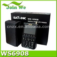 Satlinnk WS6908 AV in and AV out Function Satellite Alignment Meter WS 6908 Signal Finder
