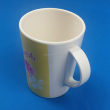Factory direct sale melamine coffee tumbler cups, eco coffee mug