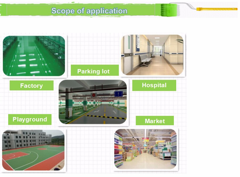 Liquid Coating and Epoxy Main Raw Material epoxy floor light building materials paint with low price