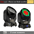 2017s new product 19*15w 4in1 Led Zoom beam moving head light