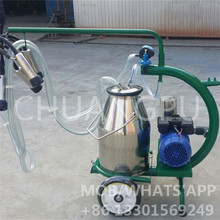 New Arrival Dry Vane Pump Cow Portable Milking Machine for Sale